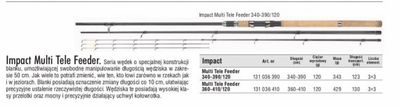IMPACT MULTI TELE FEEDER 360/410/120