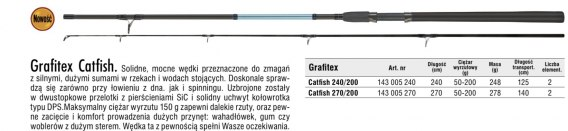 GRAFITEX CATFISH 270/200